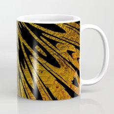 Native Tapestry in Gold Coffee Mug