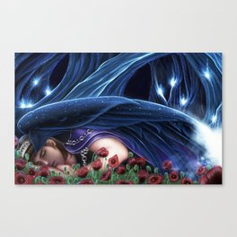 Hypnos, Hellenic God of Sleep Canvas Print