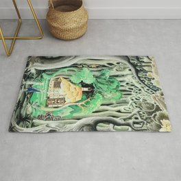 Hansel And Gretel By Brothers Grimm 1925 By Kay Nielsen Rug
