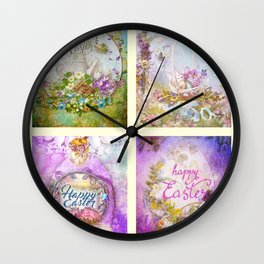 Easter Mood Collection Wall Clock