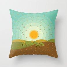 Autumnus Throw Pillow