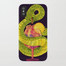 Viper on a Diet iPhone Case