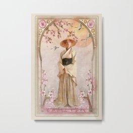 Spring Blossoms Metal Print