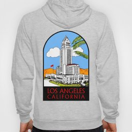 Los Angeles city hall Hoody