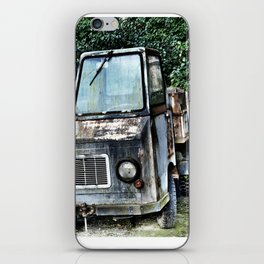 Abandoned and rusted truck iPhone Skin
