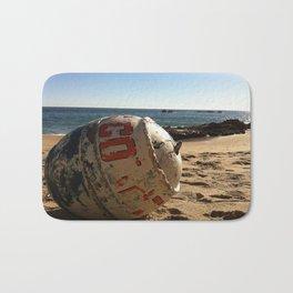 Point Dume Beach Buoy Bath Mat
