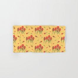 Floral-Indian Paintbrush Hand & Bath Towel