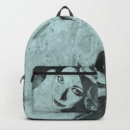 Sick On Sunday: Turquoise Backpack