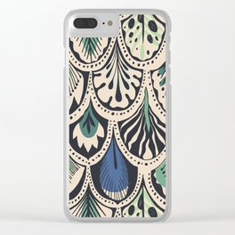 Feathers IV Clear iPhone Case