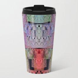 The Escher Factor, modern fractal abstract Travel Mug