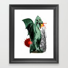 Draco Framed Art Print