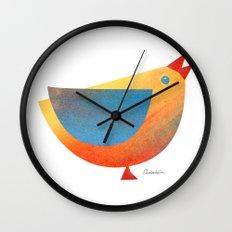 Bird (Sunset) Wall Clock