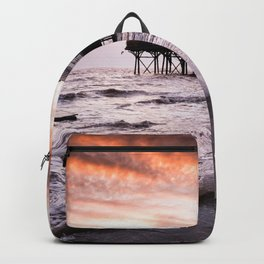 High tide at the Pier Backpack