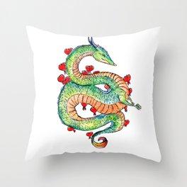 Chinese Zodiac: Dragon Throw Pillow