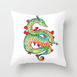 Chinese Zodiac: Dragon Throw Pillow