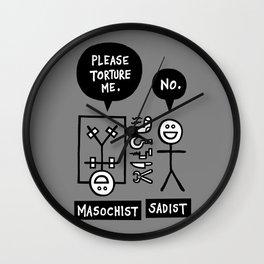 Kind of Symbiosis Wall Clock