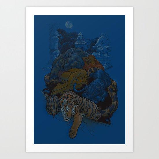 Pax Indiana Art Print