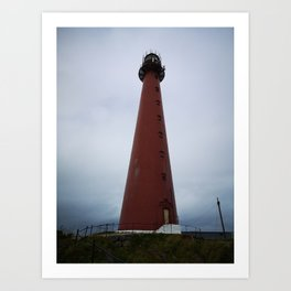 Andenes Lighthouse Art Print