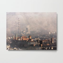 Wawel from above Metal Print