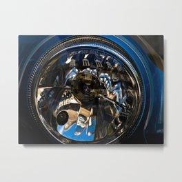 on distortion Metal Print
