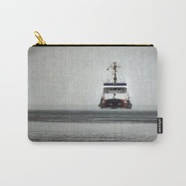 USCG Biscayne Bay in fog Carry-All Pouch