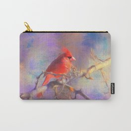 Lovely Cardinal Carry-All Pouch
