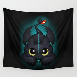 Pounce (Glow) Wall Tapestry