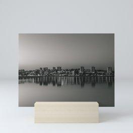 Porto in Black and White Mini Art Print