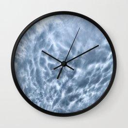 Mammatus Cloud Panorama Wall Clock