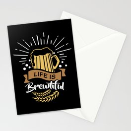 Life is Brewtiful | Beer Brewer Oktoberfest Stationery Cards