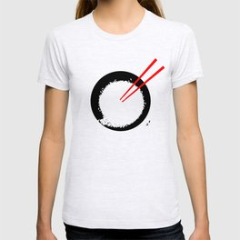Enso in rice bowl T-shirt