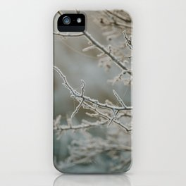 Frosty Thorns iPhone Case