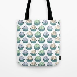 Candy chocolate truffles sketch Tote Bag