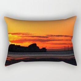 Belfast Ferry Rectangular Pillow