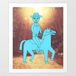 Pokey LeSmokey Art Print
