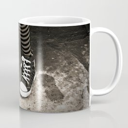 Striped Socks & Sneakers Coffee Mug