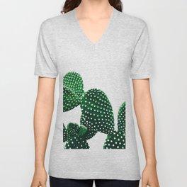 Prickly Plant Unisex V-Neck