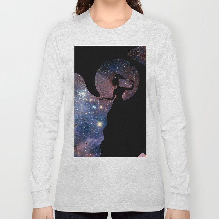 Galaxy From Within Long Sleeve T-shirt