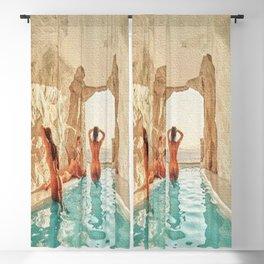 Natural Pool Blackout Curtain
