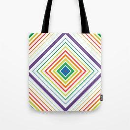 Tricky Figure - Optical Illusion - Geometric Art - Modernist Tote Bag