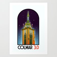 Colmar Travel Poster Art Print