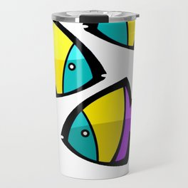 Color Fisch. Travel Mug