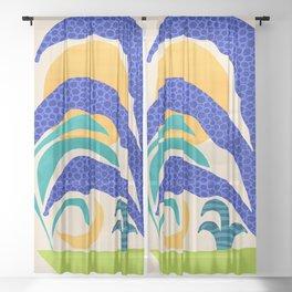 Secret Garden Sheer Curtain