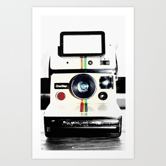 Shake it like a Polaroid picture Art Print