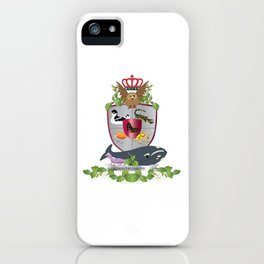 Coat of Arms 2 iPhone Case