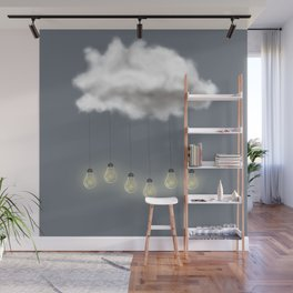 Light Rain Wall Mural