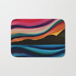 Sweeping down to the sea Bath Mat