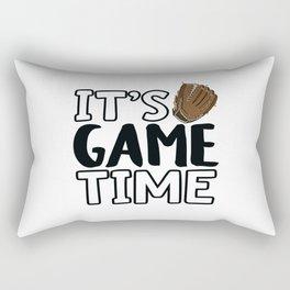 It's Game Time, Baseball Glove Rectangular Pillow