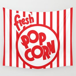 Fresh Popcorn Wall Tapestry