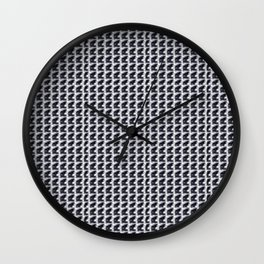 Zero Matrix Of Light Wall Clock